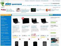 Сеть супермаркетов цифровой техники DNS
