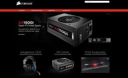 Corsair - мировой лидер в разработке и производстве высоконадежной высокоскоростной оперативной памяти для ПК, серверов и ноутбуков.