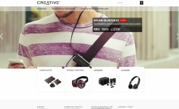 Creative (Nasdaq: CREAF) является мировым лидером в области продуктов для цифровых развлечений с использованием персонального компьютера и Интернет.