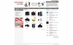 Microlab - компания , специализирующаяся на производстве акустических систем и компьютерной периферии.