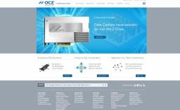 OCZ - производитель оперативной памяти и флеш-памяти