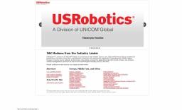 U.S. Robotics - компания, разрабатывающая модемы и сопутствующие технологии. USR является одной из старейших компаний, занимающихся телекоммуникационным оборудованием